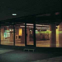 Sculpture 86, exhibition view from Kulturhuset, Stockholm, 1986