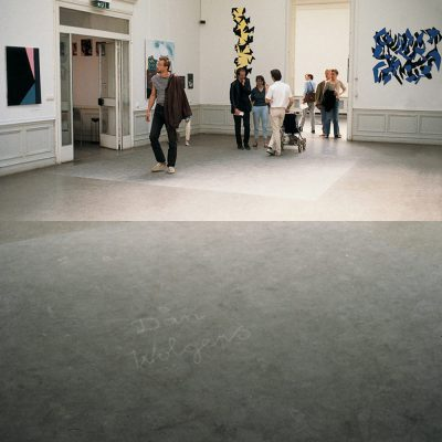 Untitled, Royal Institute of Art graduate exhibition, 1985