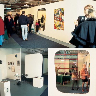 Installations views, Stockholm Art Fair, 1992